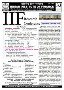 IIF Research Conference 2020